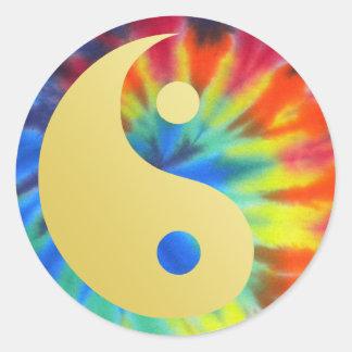 Aide électrique Yin et Yang de Kool Sticker Rond