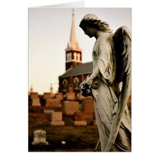 Ailes d'ange - carte vierge