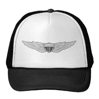 Ailes de base d'aviateur d'armée casquettes