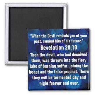 Aimant 20h10 spirituel de révélation de vers de bible
