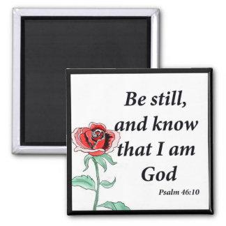 Aimant 46:10 de psaume