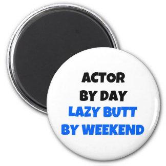Aimant Acteur par week-end paresseux de bout de jour