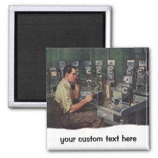 Aimant Affaires vintages, dépanneur de téléphone de