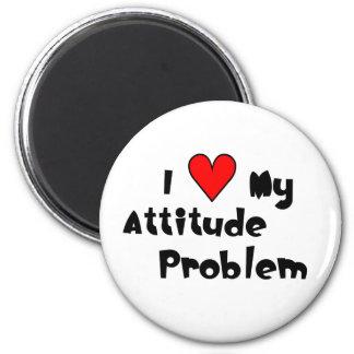Aimant Aimez mon problème d'attitude