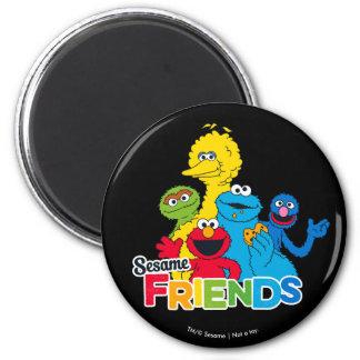 Aimant Amis de sésame du Sesame Street |