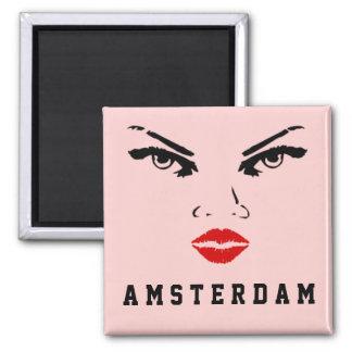 Aimant Amsterdam, la femme néerlandaise