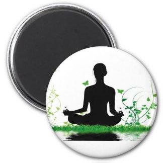 Aimant attitude zen