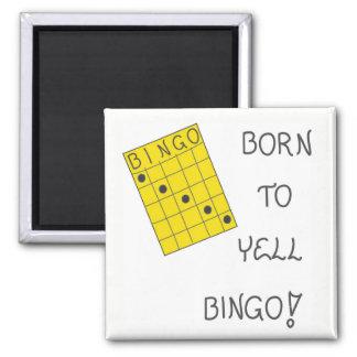 Aimant au sujet de bingo-test