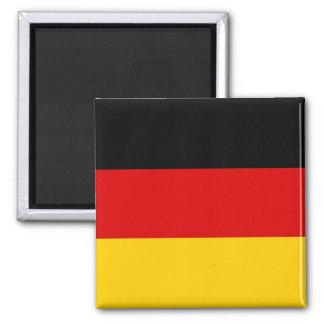 Aimant avec le drapeau de l'Allemagne