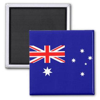 Aimant avec le drapeau de l'Australie