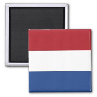 Aimant avec le drapeau de Pays-Bas