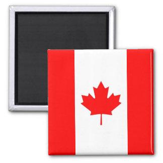 Aimant avec le drapeau du Canada