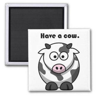 Aimant Ayez une bande dessinée du Holstein de laiterie de