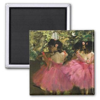 Aimant Ballerines dans le rose par Edgar Degas