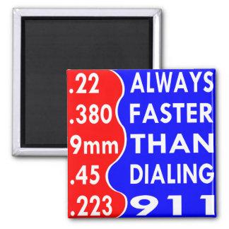 Aimant Balles toujours plus rapidement que composant 911