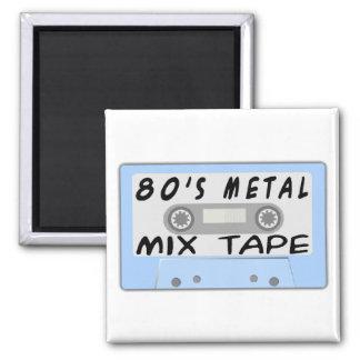 Aimant bande de mélange en métal 80s