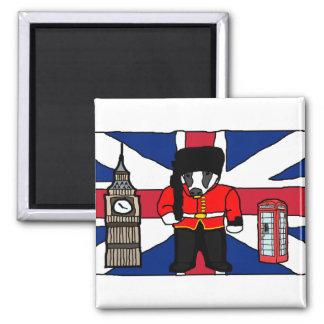 Aimant Bande dessinée britannique de cabine de téléphone