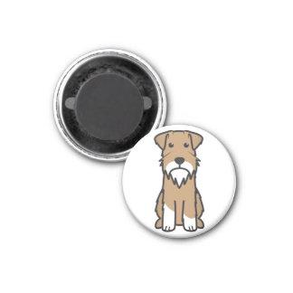 Aimant Bande dessinée de chien de Schnauzer miniature