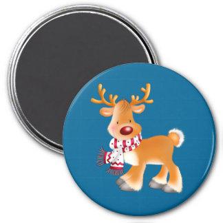 Aimant bande dessinée de Rudolph