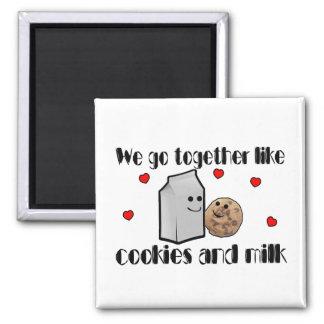Aimant Biscuits et amour de lait