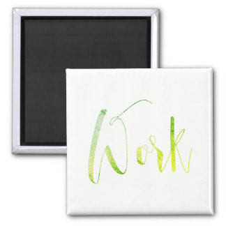 Aimant Blanc de tâche professionnelle vert pour faire le