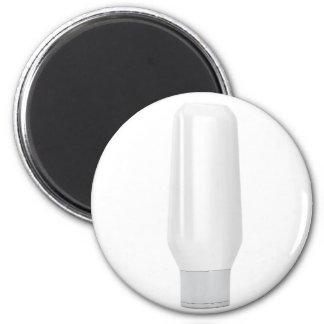 Aimant Bouteille blanche vide pour les produits
