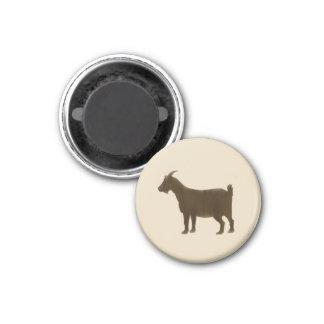 Aimant Brown a peint la chèvre de ferme