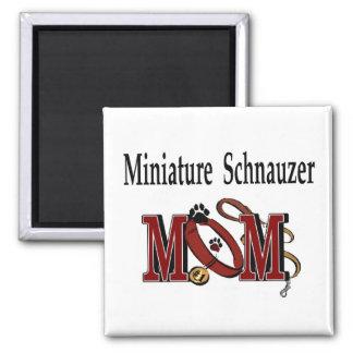 Aimant Cadeaux de MAMAN de Schnauzer miniature