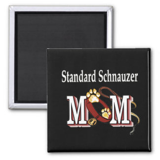 Aimant Cadeaux de MAMAN de Schnauzer standard