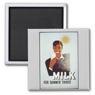 Aimant Cadeaux et T-shirts de lait cru