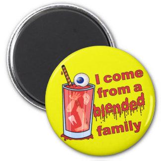 Aimant Calembour mélangé drôle de famille
