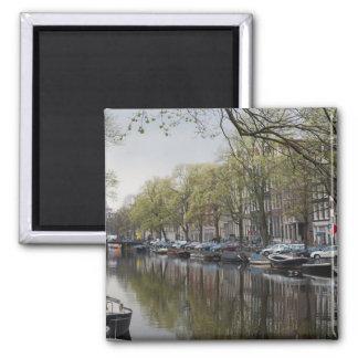Aimant Canaux à Amsterdam, Hollande