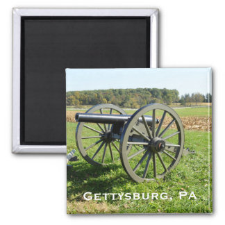 Aimant Canon sur le champ de bataille de Gettysburg