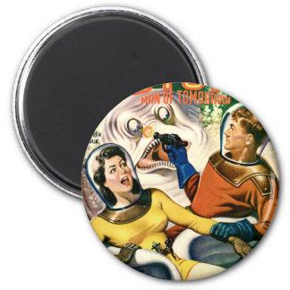 Aimant Capitaine Future et la lune magique