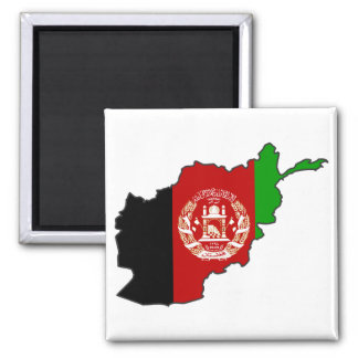 Aimant Carte de drapeau de l'Afghanistan