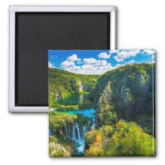 Aimant Cascade élégante pittoresque, Croatie