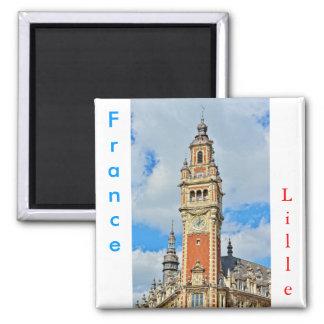 Aimant Chambre de commerce de ville Lille, France