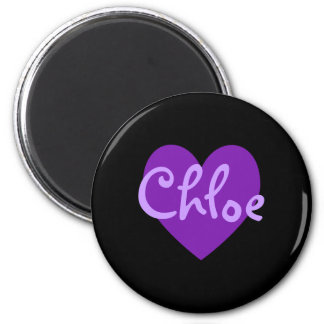 Aimant Chloe dans le pourpre