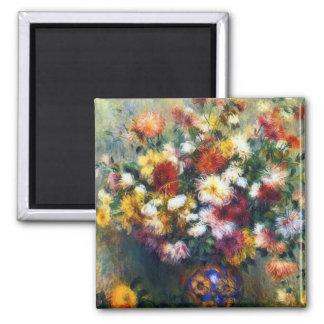 Aimant Chrysanthèmes colorés par Auguste Renoir