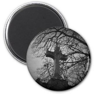 Aimant Cimetière gothique de Halloween