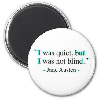 Aimant Citation de Jane Austen