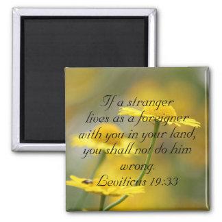 Aimant Citation d'écriture sainte de bible de vieux