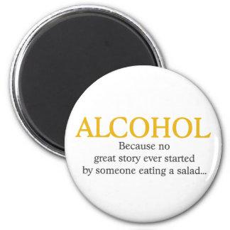 Aimant Citation drôle d'alcool