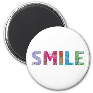 Aimant Citation heureuse 03 de sourire