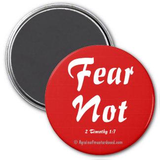 Aimant Citations de bible de crainte pas