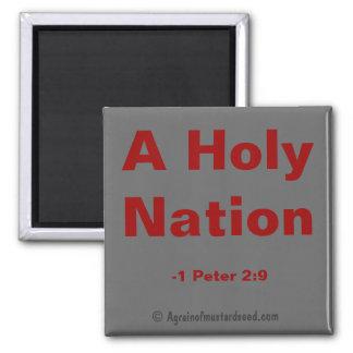 Aimant Citations saintes d'une bible de nation