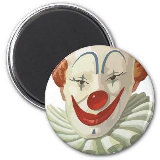 Aimant clown effrayant