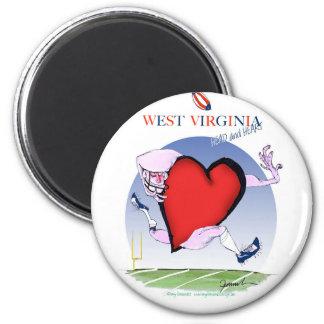 Aimant coeur principal de W la Virginie, fernandes