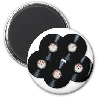 Aimant Collection de vinyle