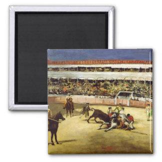 Aimant Combat de Manet | Taureau, 1865